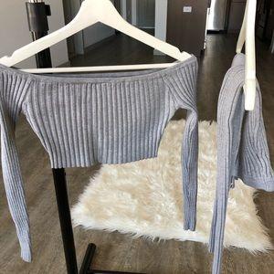 Matching knitted fashion nova outfit